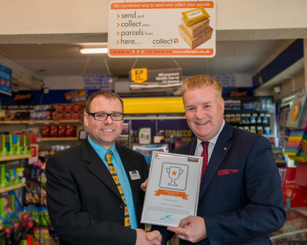 collectplus store of the year awards