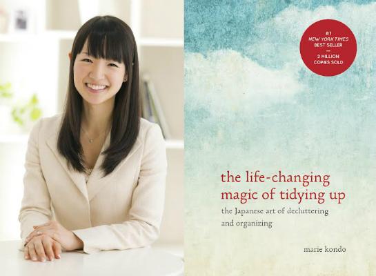 Marie Kondo decluttering book
