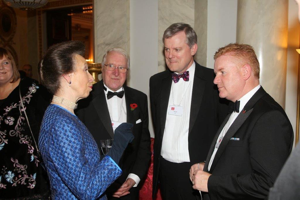 Neil Ashworth Steve Agg and Princess Royal 2