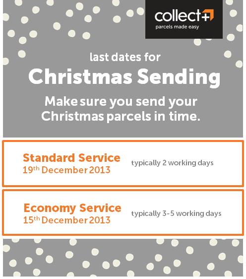 Christmas Sending Last Dates